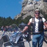 Byron at Sturgis with his 2001 Gilroy Indian Chief Motorcycle